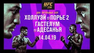 Программа UFC 236 смотреть онлайн
