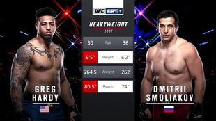 Грег Харди VS Дмитрий Смоляков смотреть онлайн